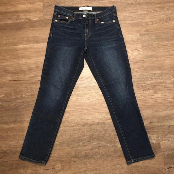 """GAP Denim - GAP 1969 Best Girlfriend Jeans size 25, 26"""" inseam"""
